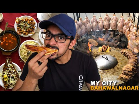 World's Best Street Food In Bahawalnagar - Dhaka Chicken, Irani Handi & Kebab Masala - Pakistan