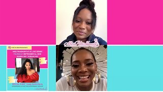 YANDY SMITH-HARRIS IG LIVE INTERVIEW WITH MISS PHASHUNTA
