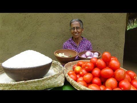 Tomato Rice Recipe By Grandma ❤ Village Life