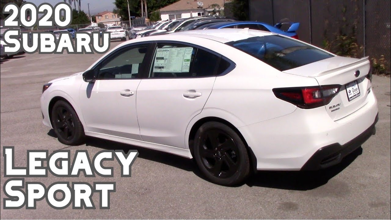 2020 Subaru Legacy Sport with 11.6