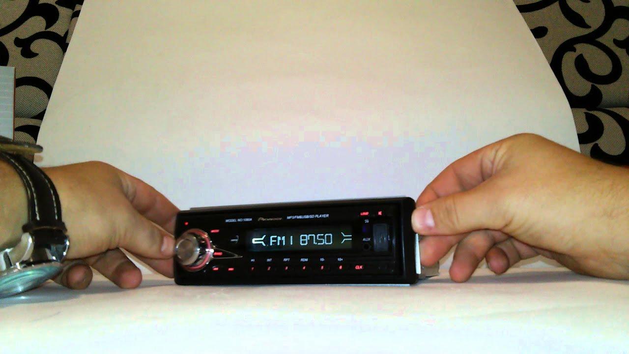 Автомагнитола с пультом Sony 1080А магнитофон в машину стерео FM-тюнер с автосканированием