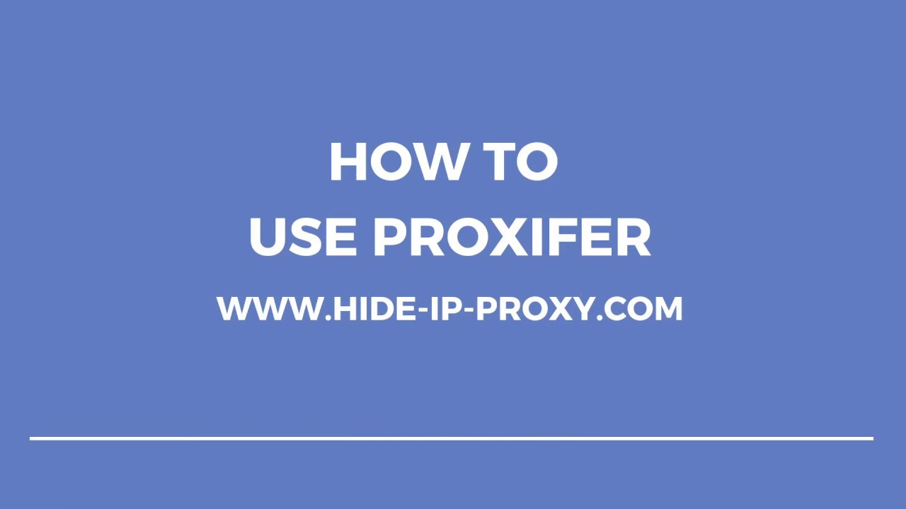 How to Use Proxifier - Step-by-Step Proxifier Tutorial