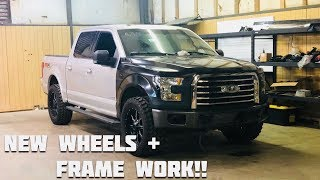 Rebuilding a Wrecked 2016 Ford F150 Part 3