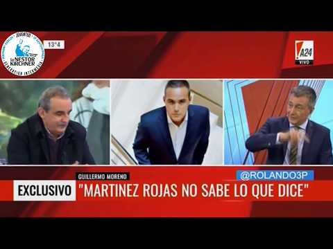 Guillermo Moreno en A24 29/08/17