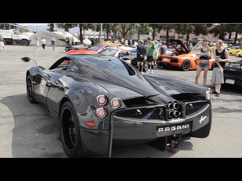 bugatti veyron ferrari enzo pagani huayra and more youtube. Black Bedroom Furniture Sets. Home Design Ideas