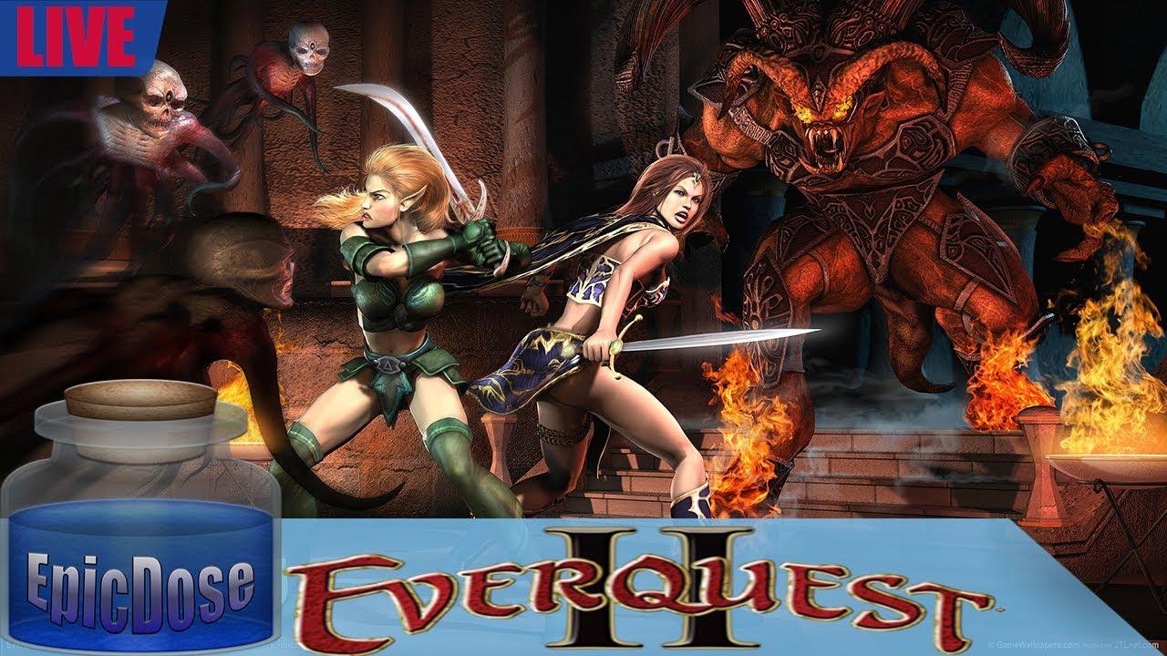 Eq2 Best Solo Class 2020 Everquest 2   Fallen Gate Time Lock Progression Server   EQ2