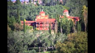 Монастырь святой Кириаки в Курамадах о.Корфу Греция(Видео монастыря святой мученицы Кириаки., 2015-03-20T12:58:50.000Z)