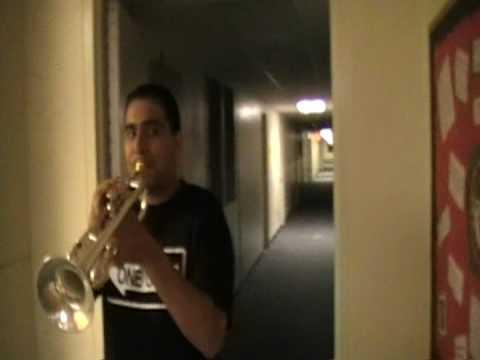 Dorm Trumpet Call at 6 am