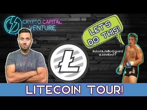 Litecoin 30 Day Tour  LIVE With John Kim!