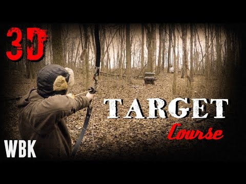 Allen County Archers Traditional 3D target course 1/16/16