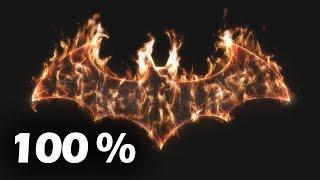 Batman Arkham Knight Knightfall Protocol Ending 100% Secret Completion Ending