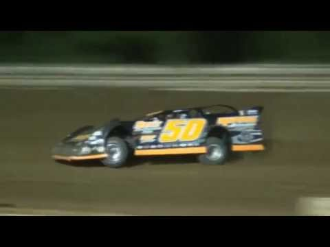 Ronnie Mayle turning laps at the Ohio Valley Speedway