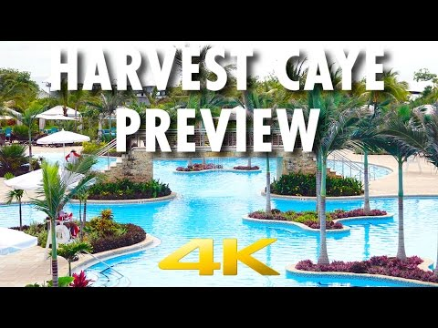 Harvest Caye Preview ~ Behind-the-Scenes: Belize Destination ~ Norwegian Cruise Line [4K Ultra HD]