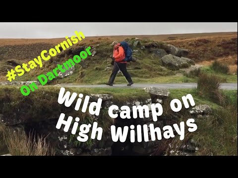 Wild Camp On Top Of High Willhays Dartmoor