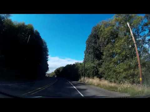 Oregon Coast Road Trip 2016 Dash Cam Footage - GOONIES