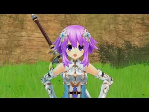 Cyberdimension Neptunia: 4 Goddesses Online_start game beginning. |