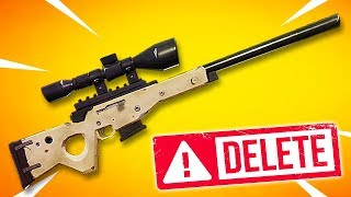 Epic Games DELETED the best gun in Fortnite... (Patch Notes v5.40) Chaos