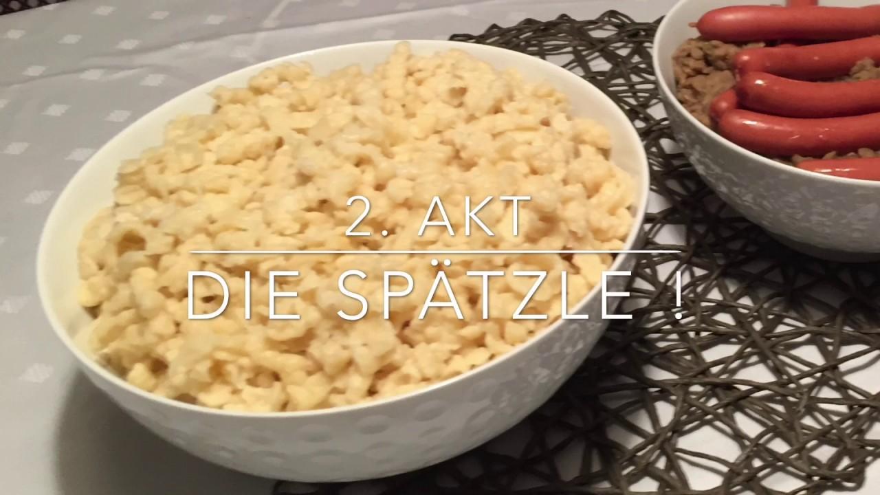 Linsen Mit Spätzle Schwäbischer Himmel Youtube