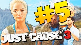 Just Cause 3 Прохождение - Дерзкая Соска! #5 (60 FPS)
