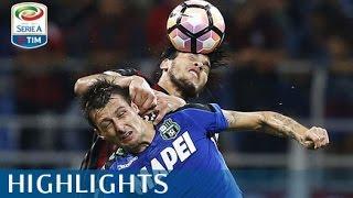 Milan - Sassuolo - 4-3 - Highlights - Giornata 7 - Serie A TIM 2016/17 streaming