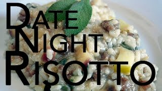Quick And Easy Sausage & Sage Risotto | With Olivia Saez