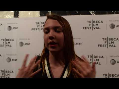 Isabelle Nélisse at the 2018 Tribeca Film Festival