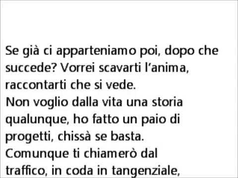 Cesare Cremonini - Io e Anna con testo