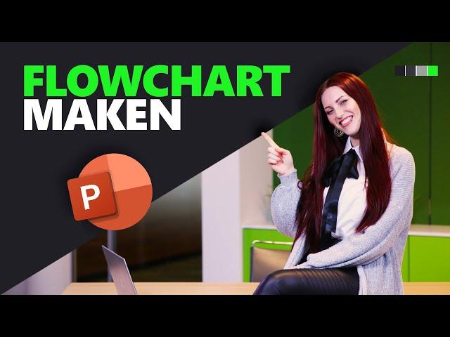Hoe maak je een flowchart in PowerPoint? | PowerPoint basics | PPT Solutions