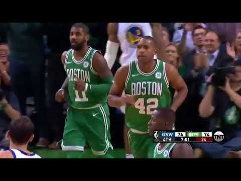 Al Horford on cleanup duty!