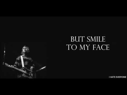Falling In Reverse - I Hate Everyone (Lyrics)