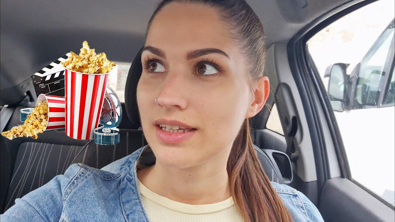 DRIVE IN KINO🍿🎞️ DEKLIŠČINA👰 Vlog#64   FINA JASMINA