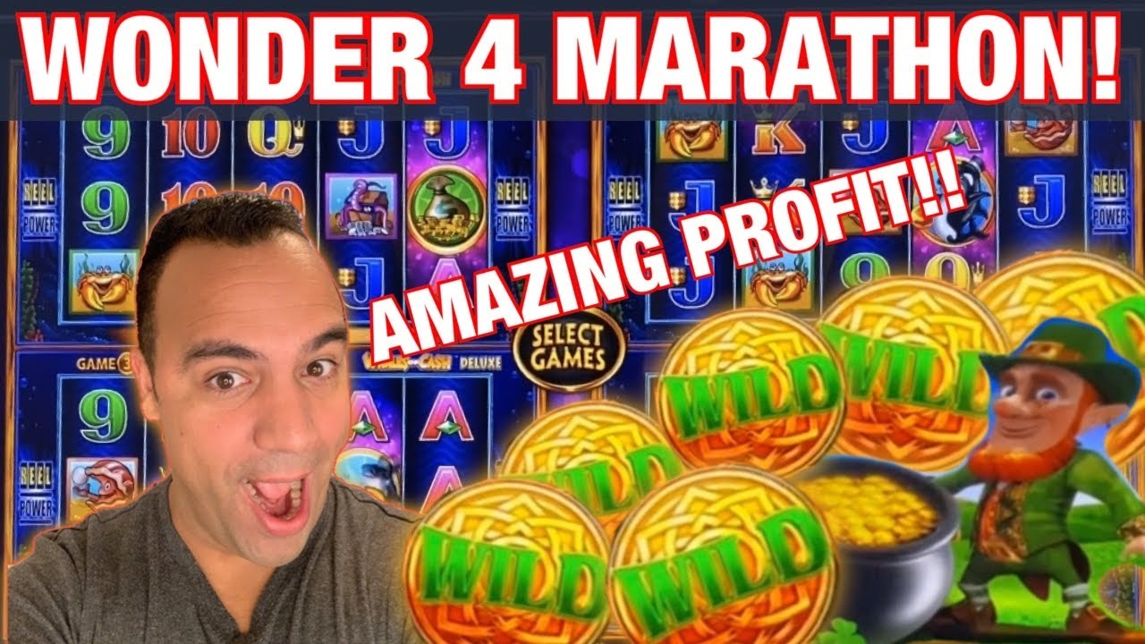 Download INSANE WONDER 4 SPINNING FORTUNES SESSION!! 👑🙌💰 🎰 | The 🍀 Leprechauns CAME OUT!! 😜💵