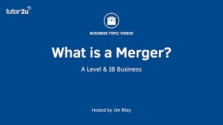 Business Growth Strategy   Mergers