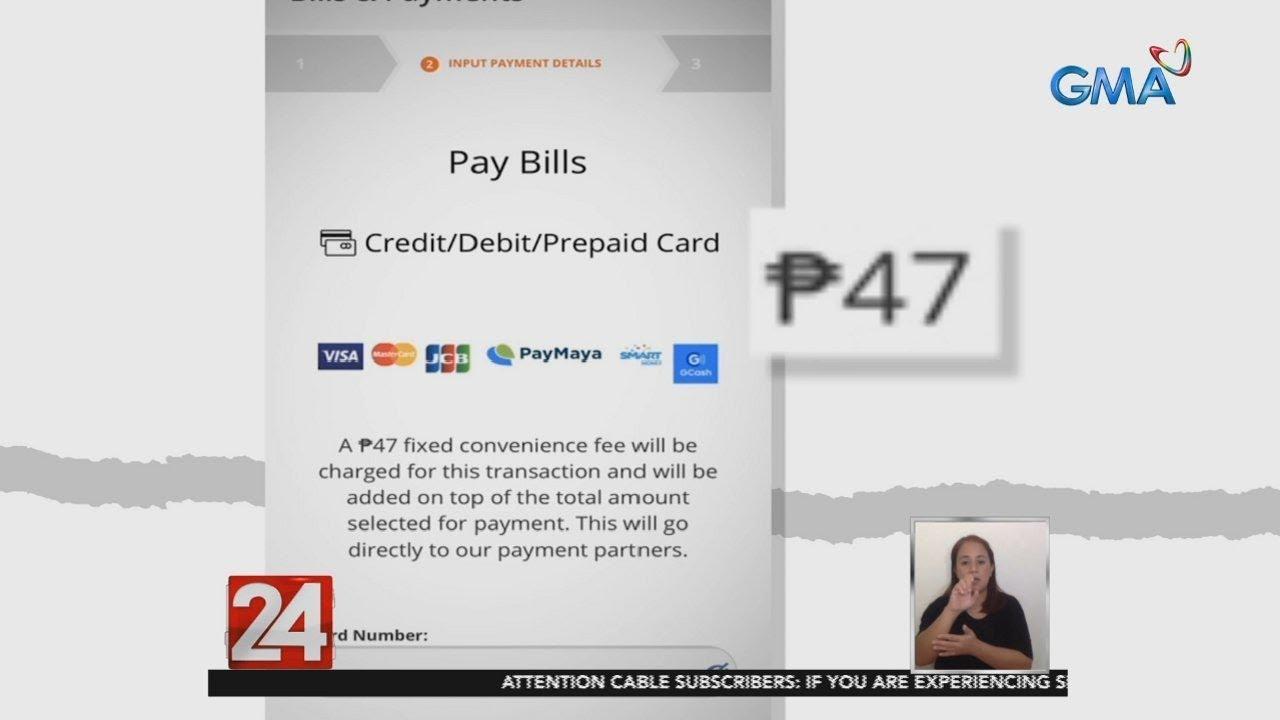 24 Oras: NASECORE, kinuwestyon ang paniningil ng convenience fee sa mga customer na magbabayad...