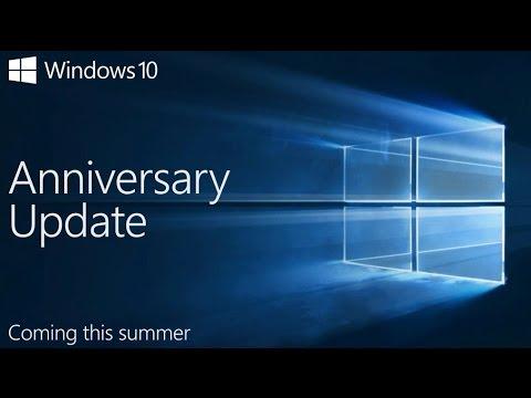 Windows 10 Anniversary Update УСТАНОВКА И ОБЗОР