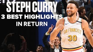Stephen Curry Has Behind-The-Back Dime, Wild Buzzer-Beater and 4-Point Play In Warriors Return