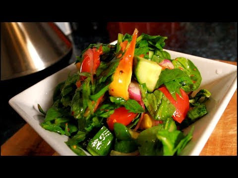 Easy Spinach Salad RECIPE FROM - Chef Ricardo Juice Bar