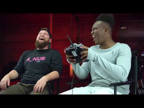 KSI Learns to Race Drones | Drone Racing League and Hauk Ep 3