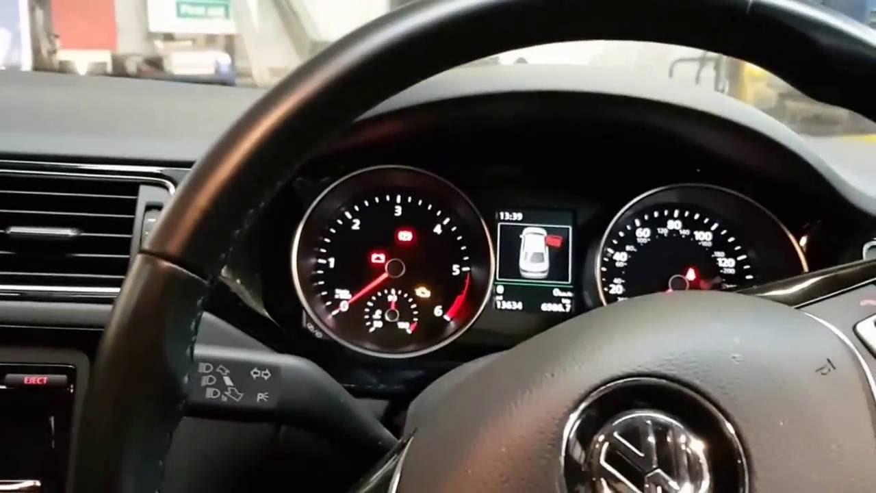 How To Reset Tyre Pressure Light Vw Jetta