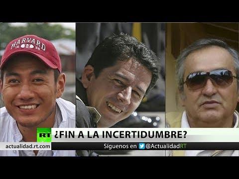 RT en Español: Encuentran tres cuerpos que podrían pertenecer a los periodistas ecuatorianos desaparecidos