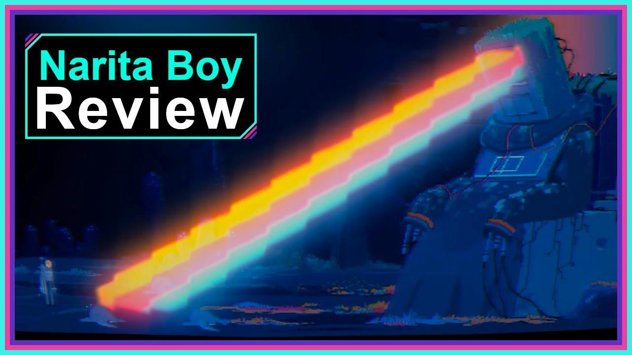 Download Narita Boy Game Review | Retro Pixel Perfection!