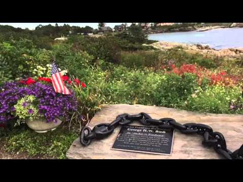 Kennebunkport Maine and visit to the Bush Compound