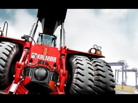 Kalmar Gloria reachstacker - benchmark for productivity