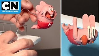 Richard Watterson Stop Motion Claymation | The Amazing World of Gumball | Cartoon Network