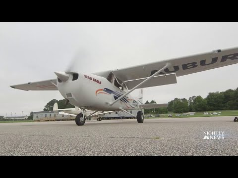 New Training Program For High School Students Aims To Combat Pilot Shortage | NBC Nightly News