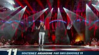 AMANDINE BOURGEOIS...NOTHING COMPARES 2 U...1ER PRIME YouTube Videos