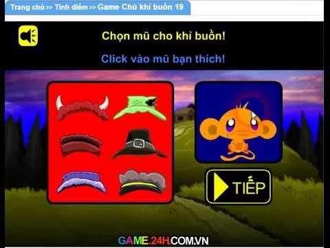 Game chú khỉ buồn 19 ( Game.24hm.vn )