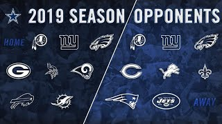 Cowboys 2019 Schedule Review 👀! My Record Prediction 🤷🏽♂️