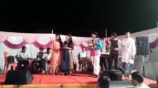 Shahir Balasaheb Bhagat singing
