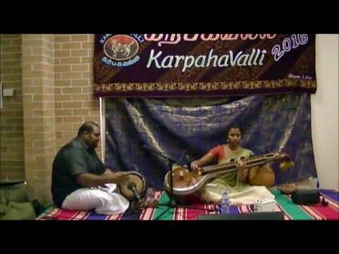 Veena - Gam Ganapathe - Hamsadhwani - Saumya Sritharan